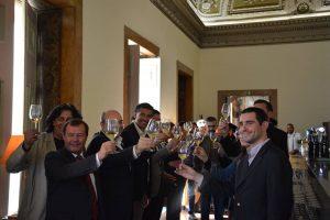 """Os Embaixadores da """"Cidade Europeia do Vinho 2018"""" foram apresentados sexta-feira em Lisboa no Palácio Chiado, em Lisboa."""